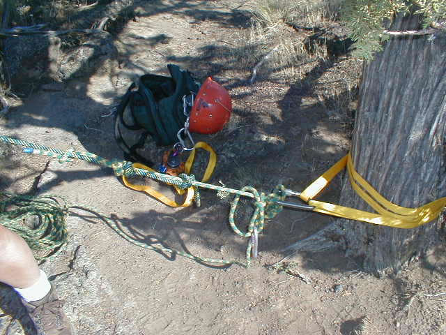 Tech Tip Assisted Lower And Rappel Guiding Newsletter June 2001